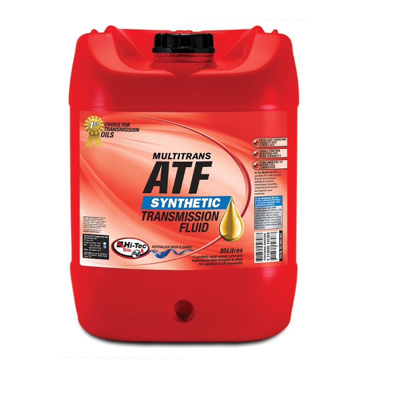 Hitec, High Tech Engines Need Hi-Tec Oils, MULTITRANS ATF