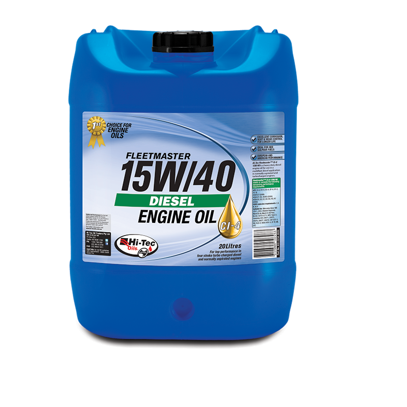 15w40 Diesel Oil >> Hitec High Tech Engines Need Hi Tec Oils Fleetmaster 15w