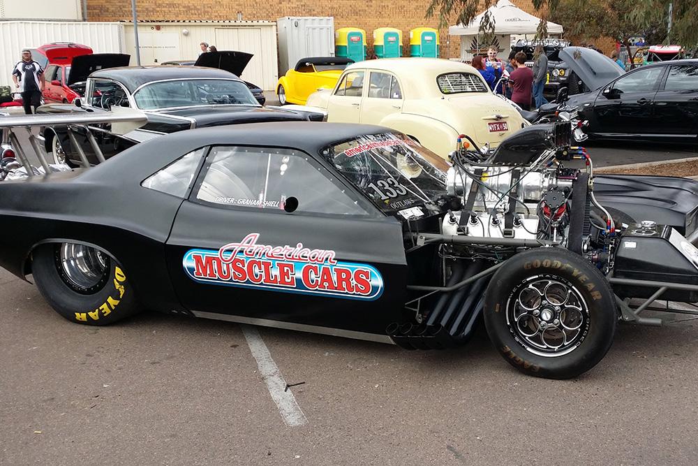 Hitec High Tech Engines Need HiTec Oils Port Augusta Car Show - Augusta car show